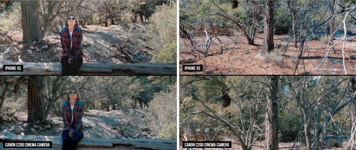 iPhone XS camera vs. Canon's $10,000 C200 cinema camera - footage comparison