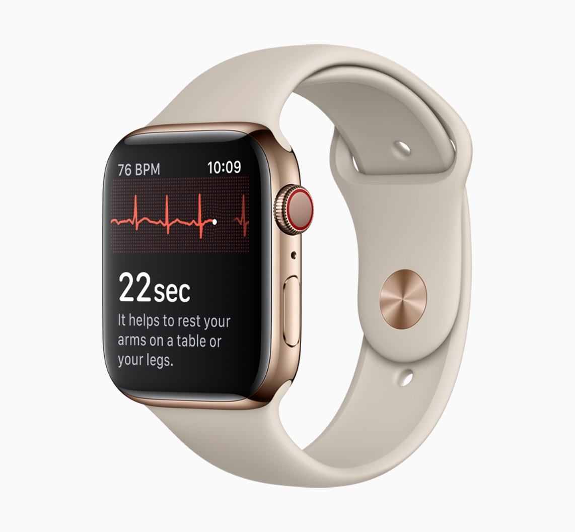 How To Use The Ecg App On Apple Watch