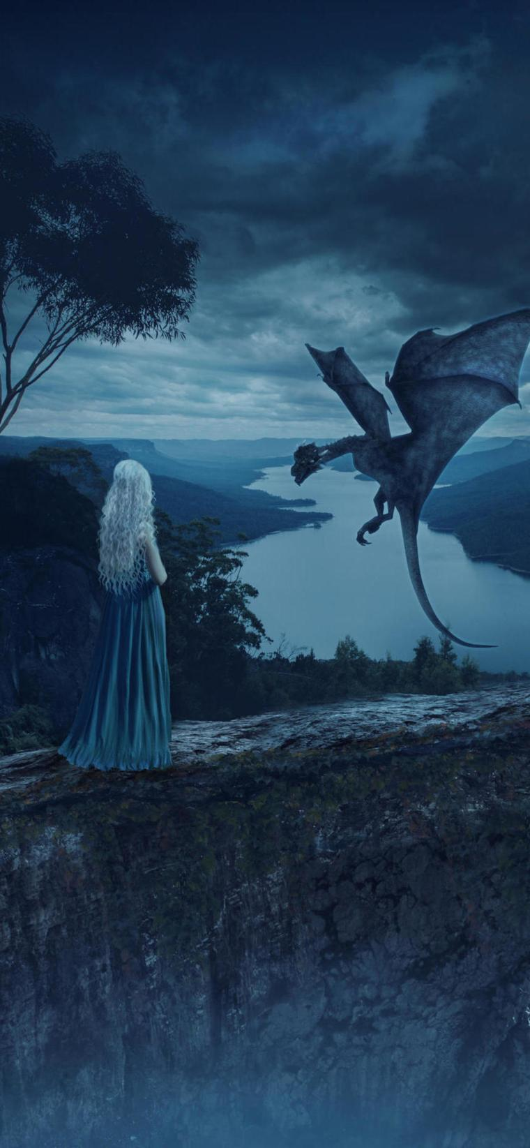 dragons-mother-game-of-thrones-6y-1125x2436 iPhone game of thrones wallpaper