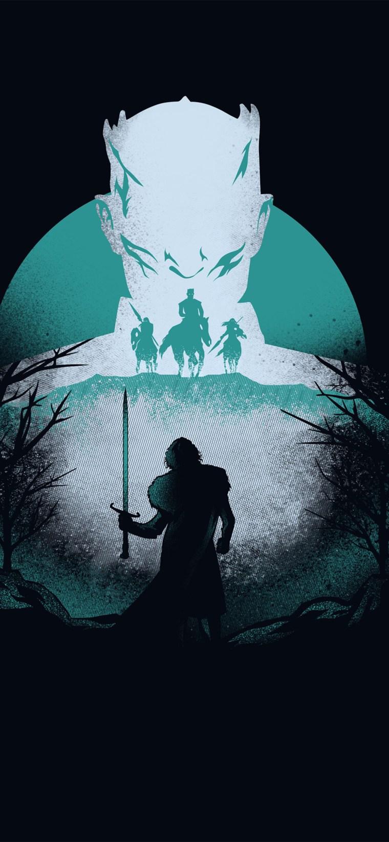game-of-thrones-season-8-artwork iPhone game of thrones wallpaper