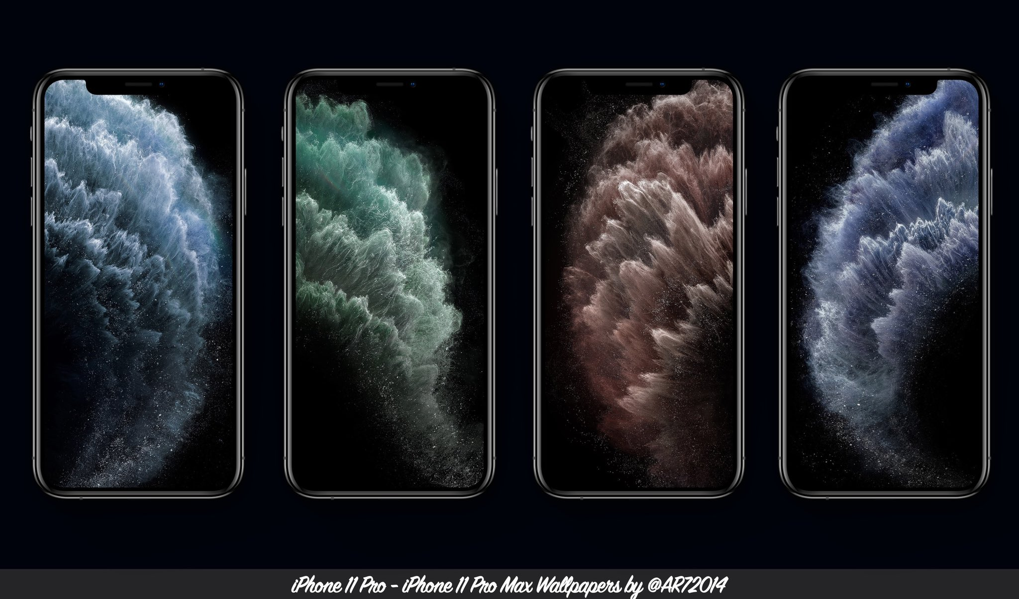 Download The Iphone 11 And Iphone 11 Pro Wallpapers