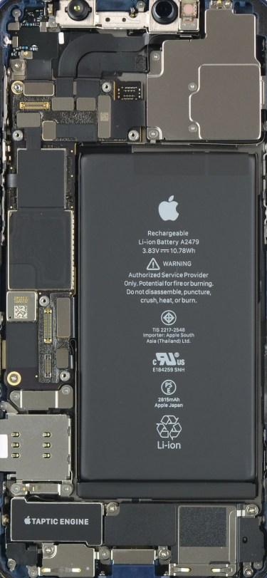 iPhone 12 Teardown Internals Wallpaper ifixit idownloadblog