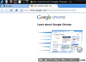 Fedora 12 Google Chrome Beta