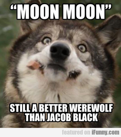 """moon Moon"" Still A Better Werewolf Than Jacob.."