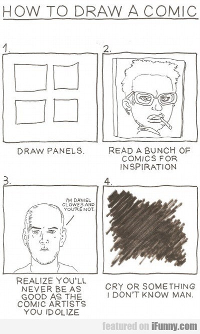 How To Draw A Comic - Draw Panels