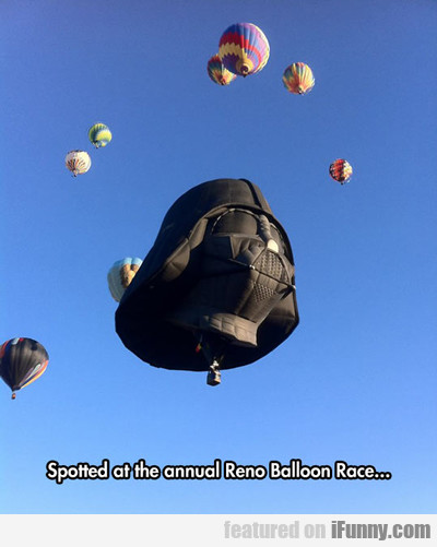 Spotted within yearly Reno Balloon Race...