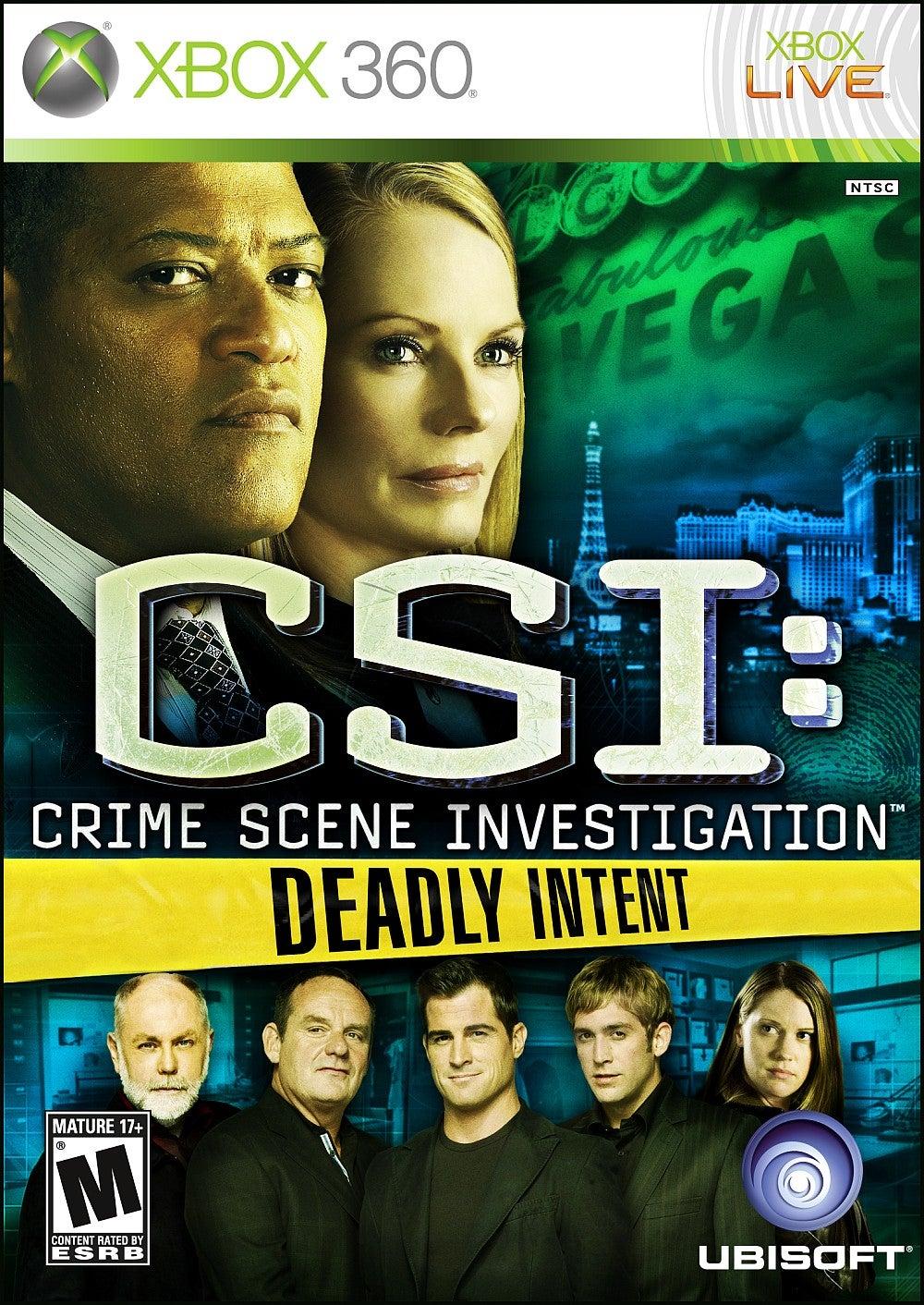 CSI Crime Scene Investigation Deadly Intent Xbox 360 IGN
