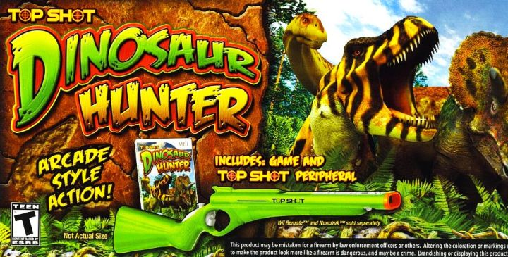 Top Shot  Dinosaur Hunter   IGN com Top Shot  Dinosaur Hunter