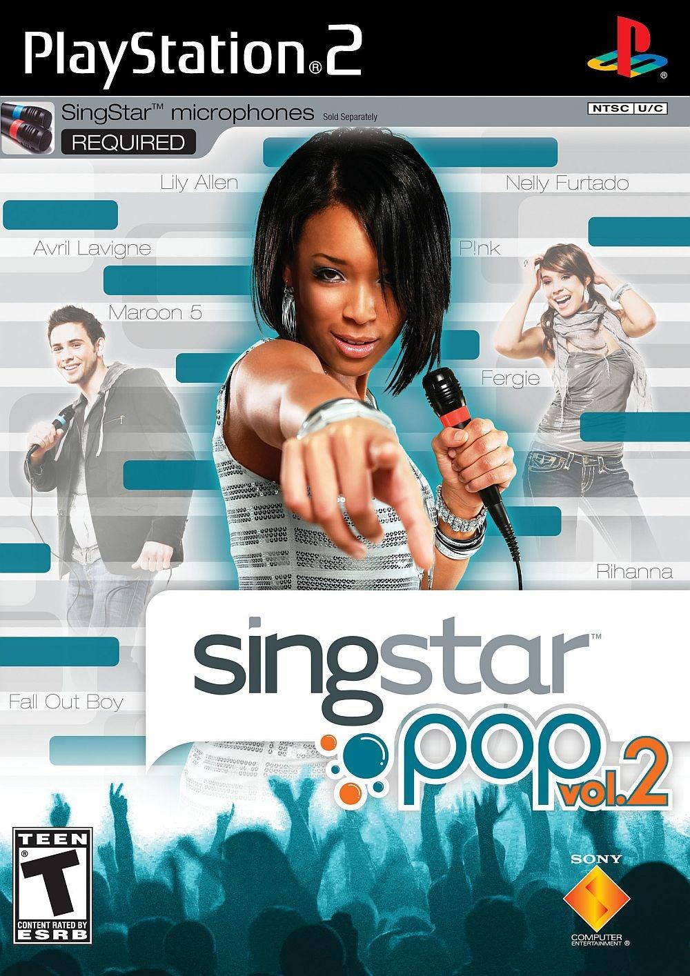 SingStar Pop Vol 2 PlayStation 2 IGN