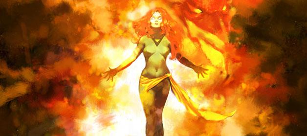 X-Men's Jean Grey as the Phoenix - Marvel Comics
