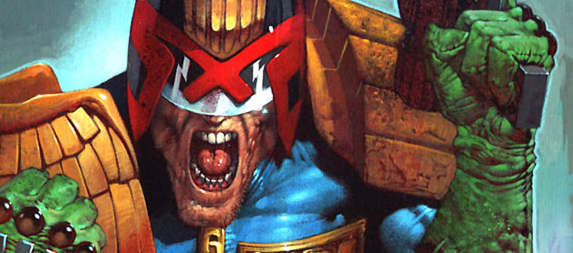 Image result for judge dredd comics