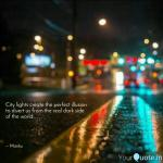 City Lights Create The Pe Quotes Writings By Mayank Kaushal Yourquote
