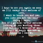 I Hope To See You Again A Quotes Writings By Rogelio Yourquote