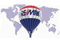 RE/MAX Balloon on World Map