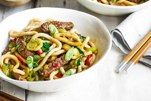 Shanghai beef noodles