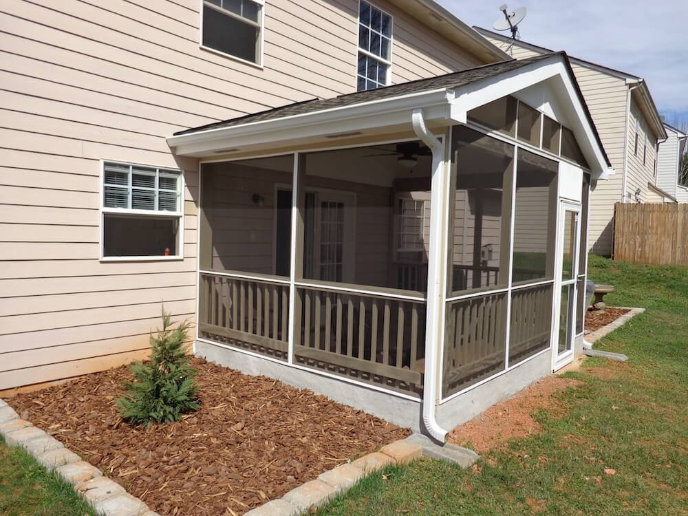 2017 Screened In Patio Cost Privacy Screen Patio Prices