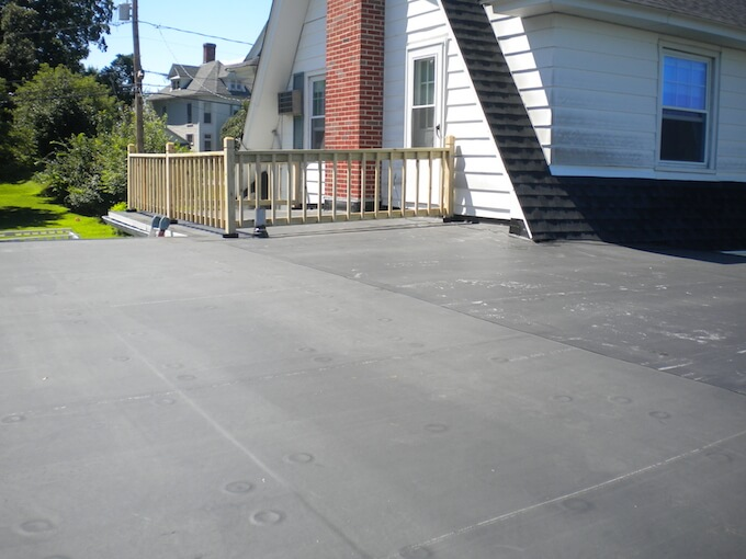 American Roofing Supply House Roof