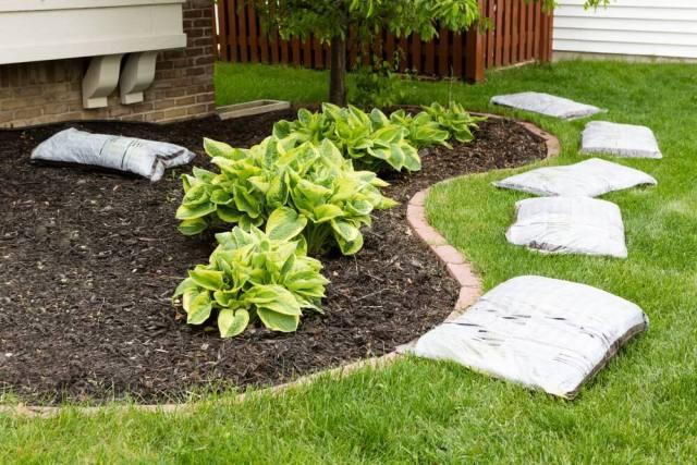 Add Mulch To Your Yard