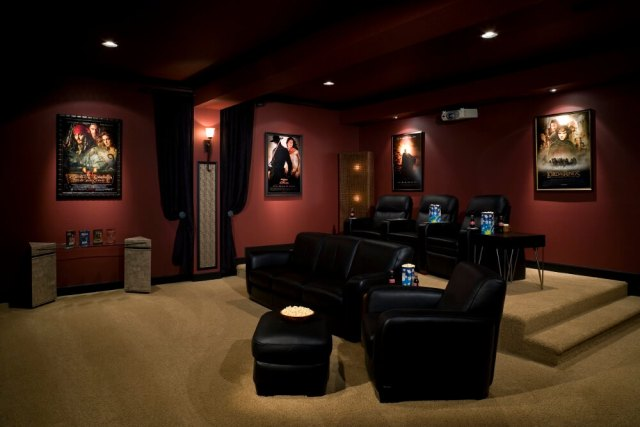 Basement Home Theater-1