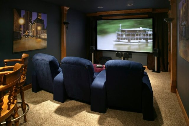 Home Theater Basement 2018 Trends