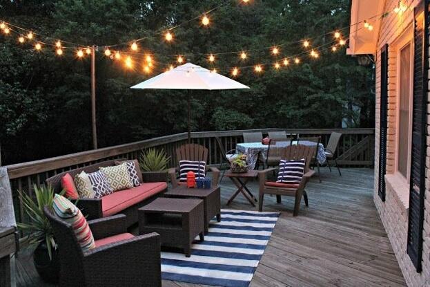 deck lighting ideas outdoor lighting