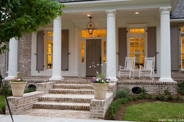 front porch lighting ideas