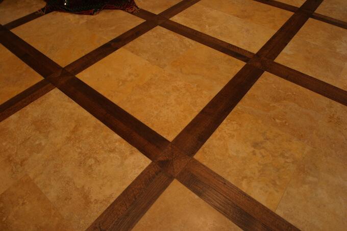 2021 stone tile floor inlay costs