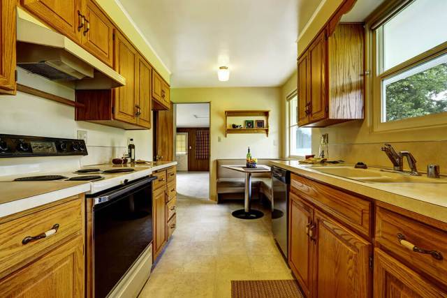 Clean Wood Cabinets