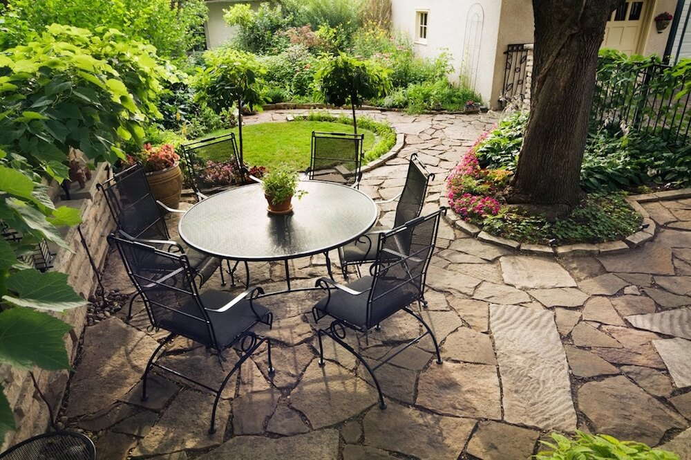 natural stone patio cost