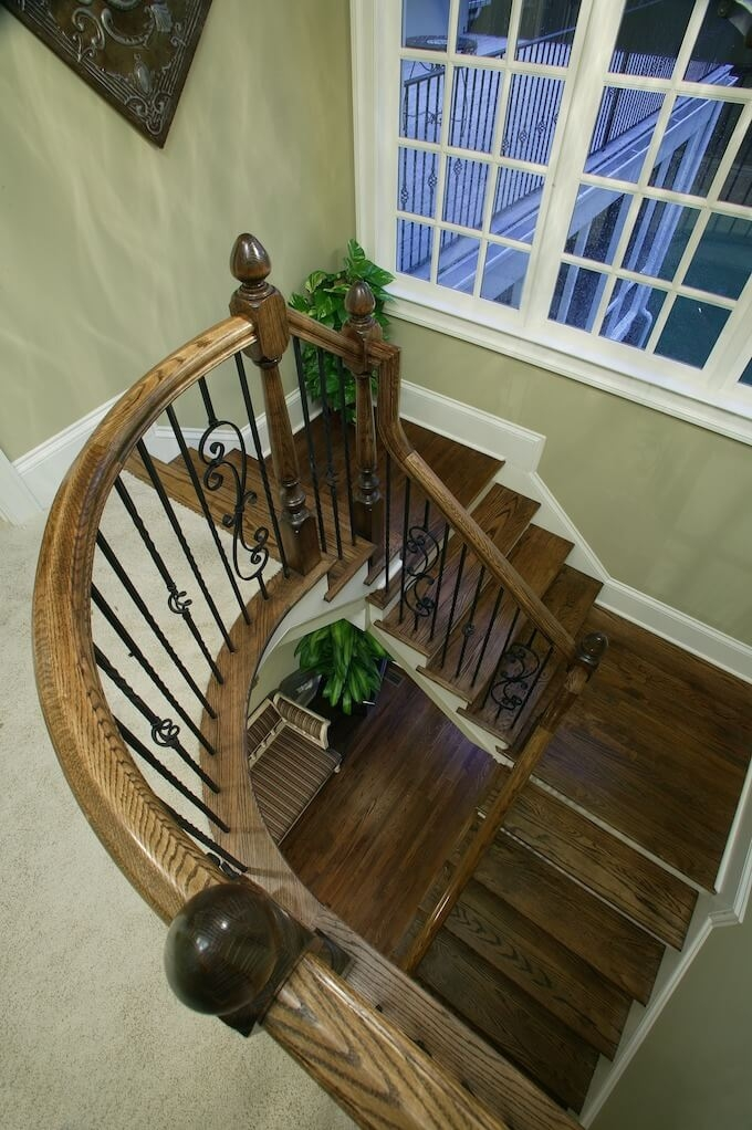 2020 Wood Stairs Installation Cost Repair Wood Stairs | Wooden Stair Railing Prices | Staircase Ideas | Deck Railing | Frameless Glass | Steel | Glass Stair