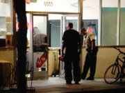 Santa Barbara authorities investigate I.V. Deli, where one of the victims was reportedly shot and killed