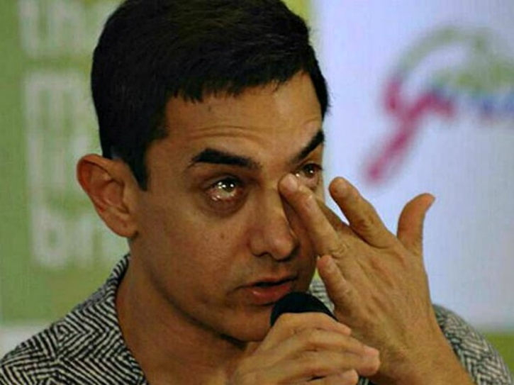 Image result for aamir khan crying