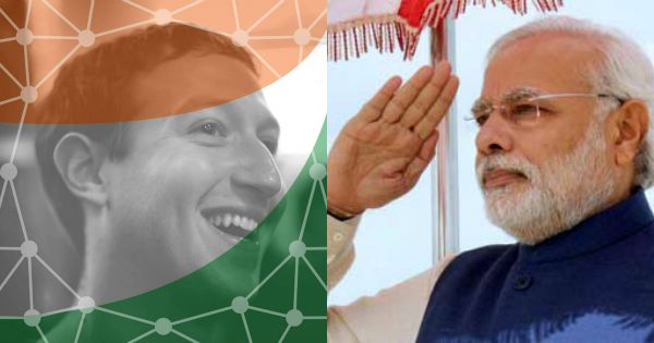 Zuckerberg Welcomes Modi To FB By Changing His Profile Pic To Colours Of The Indian Flag!