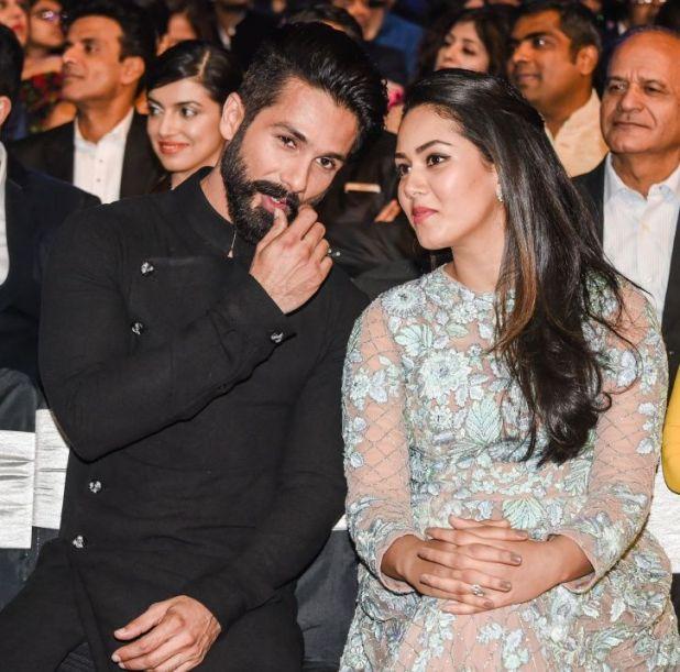 Shahid Kapoor and Mira