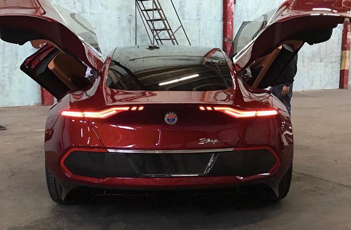 Fisker Sees Teslas Two Falcon Wing Doors Raises It Four