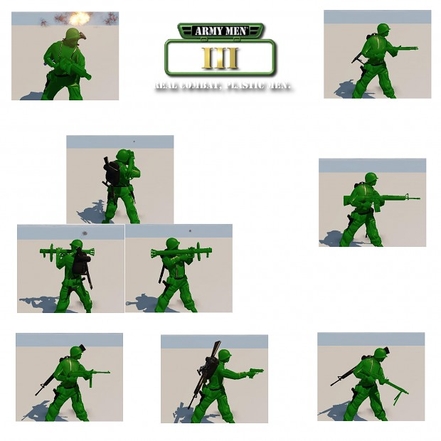 Plastic Weapons & Stances