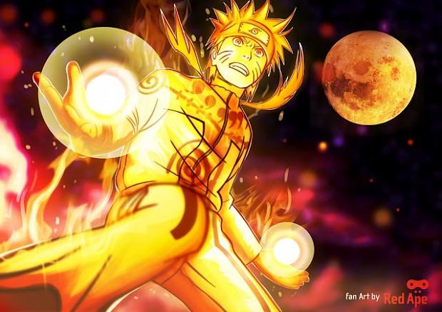 Naruto In Nine Tails Chakara Form Image Indie Db