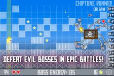 Chiptune Runner - Boss fight!