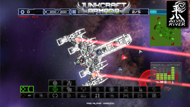 Laser beams added to the game