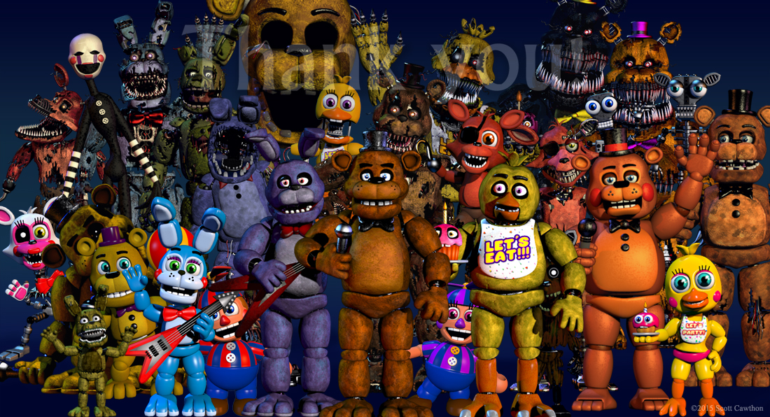 FNaF World Confirmed News Indie DB