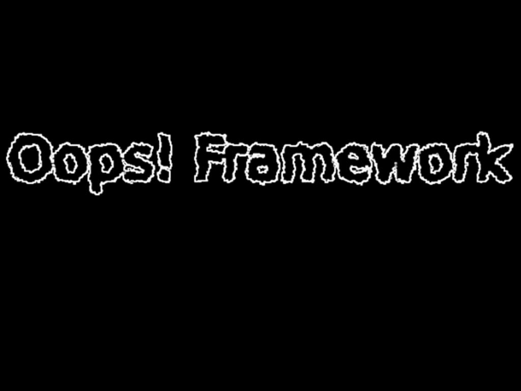 Oops Framework File