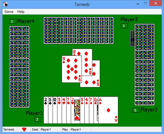 Tarneeb 20 Windows Game Indie DB