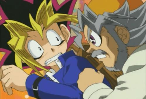 Resultado de imagem para yugi and grandpa
