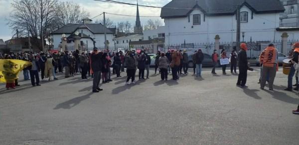 Protesta de trabajadores de salud de Tandil