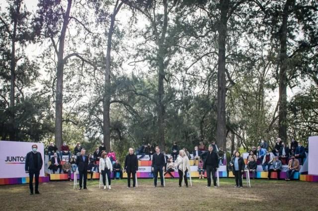 El ala PRO de Juntos lanzó a Diego Santilli y Graciela Ocaña como la dupla principal para las elecciones legislativas en la Provincia.