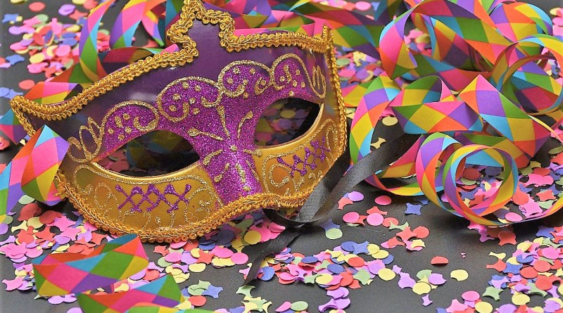 Pixabay Masque Carnaval Confetti Couleurs