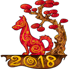 Image result for year of the dog png