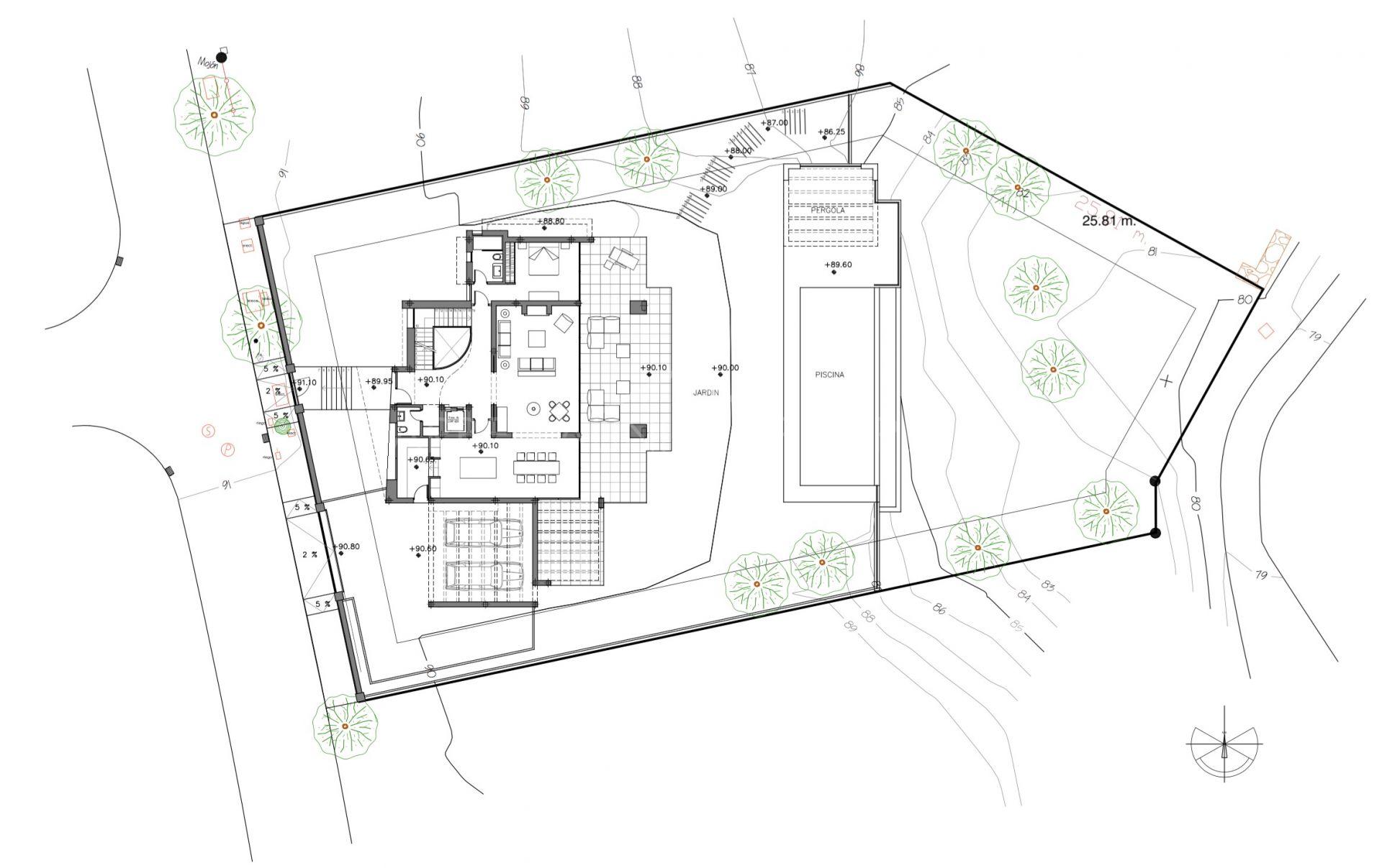 Fantastic Brand New Modern Villa In Los Flamingos