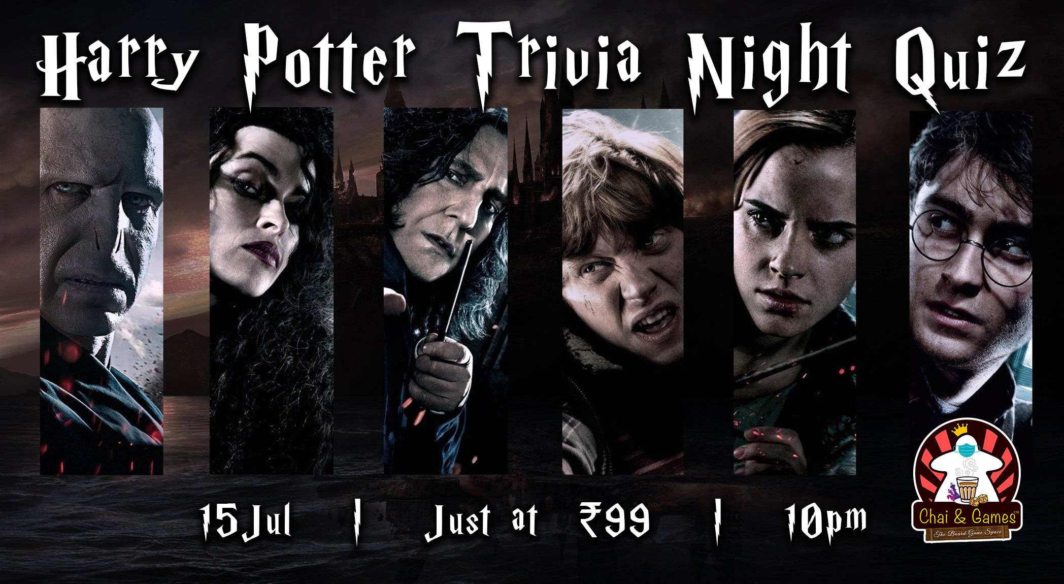Harry Potter Trivia Night Quiz Hosted By Chai Amp Games