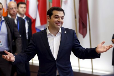 Il premier greco Alexis Tsipras a Bruxelles il 7 luglio.  - François Lenoir, Reuters/Contrasto
